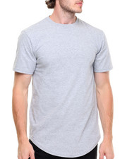 Basic Essentials - Scallop Bottom Tee