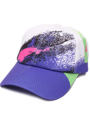 Men - Spray Paint Strapback Hat