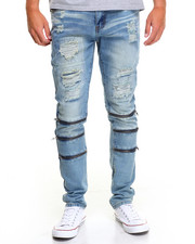 Jeans & Pants - MAUSER TRI - ZIP DENIM JEANS