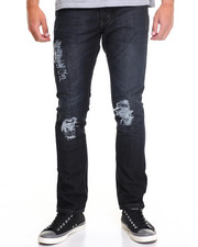 Jeans & Pants - Rip & Repair Jean-Blue/Black