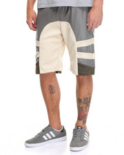 Men - V + R Mixed - Media Paneled Shorts