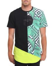 Shirts - Geo Neon Foliage S/S Tee