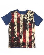 Short-Sleeve - AMERICANA FLAG TEE (8-20)