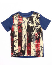 Short-Sleeve - AMERICANA FLAG TEE (4-7)