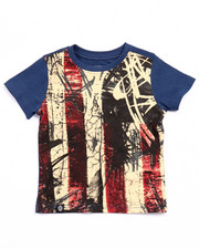 Sizes 2T-4T - Toddler - AMERICANA FLAG TEE (2T-4T)