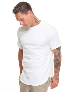10.Deep - Bazille Flocked Dot S/S Scooped Bottom Tee