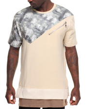 T-Shirts - Blurred Camo Panel S/S Tee