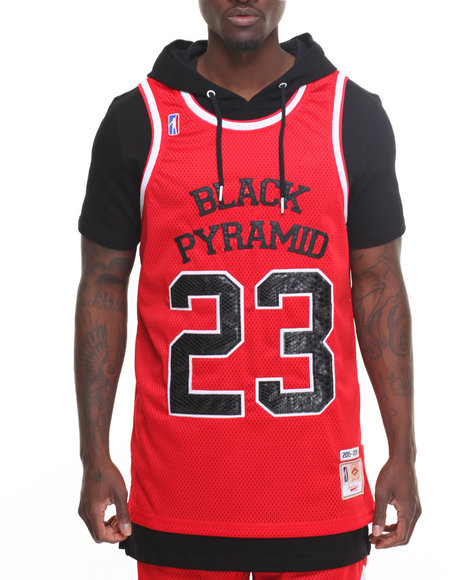 Buy 23 b p layered hoodie men 39 s hoodies from black pyramid for Black pyramid t shirts for sale