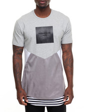 T-Shirts - Multi - Panel S/S Tee