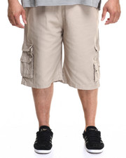 Enyce - Ribbed Band Canvas Cargo Short (B&T)