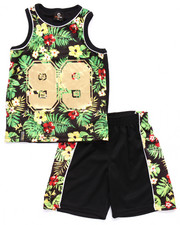 Boys - 2 PC TROPICAL TANK & SHORTS SET (4-7)