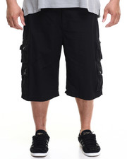 Big & Tall - Belted Baby Ripstop Cargo Short