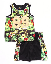 Boys - 2 PC TROPICAL TANK & SHORTS SET (2T-4T)