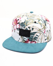 Hats - REED FLORAL SNAPBACK
