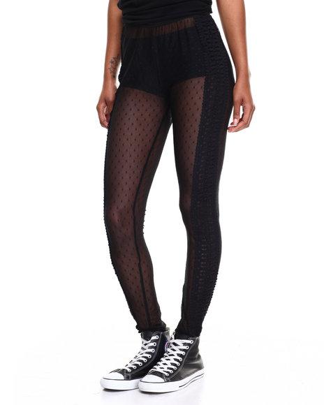 Diamond Supply Co Women Fair Leggings Black Small