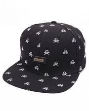 Men - SKULL MONOGRAM STRAPBACK