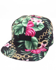 Men - FLORAL CHAINS SNAPBACK