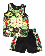 Boys - 2 PC TROPICAL TANK & SHORTS SET (INFANT)