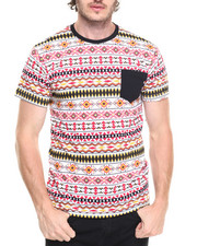 Basic Essentials - AZTEC PRINTED S/S TEE