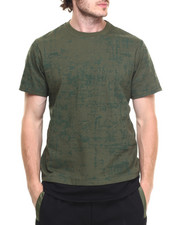 Men - Distressed Longline Tee