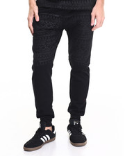 Jeans & Pants - Acid Aztec Block Jogger