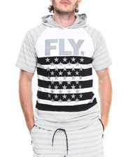 Men - Fleet Hooded Tee