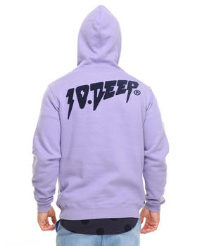 10.Deep - Sound & Fury Flocked Hoodie