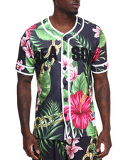 Men - FLORAL CHAIN BASEBALL TOP