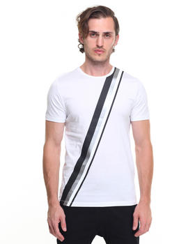 Shirts - Asymmetric Stripe Tee