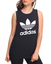 Women - Loose Trefoil Tank