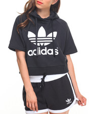 Women - Running Crop Hoody