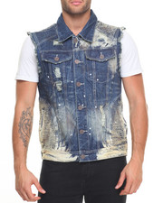Buyers Picks - Heavy Rip - And - Repair Moto Denim Vest
