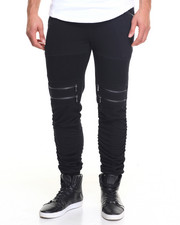 Jeans & Pants - Biker French Terry Joggers