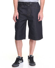 Men - New Tradition Raw Belted Denim Short