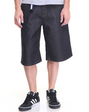 Men - High Road Raw Belted Denim Shorts
