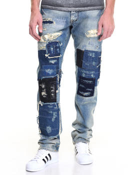 PRPS - Starling Barracuda Reg Fit Patchwork Jean