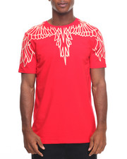T-Shirts - Embroidered Wings S/S Tee