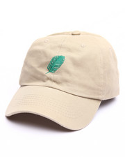 Hats - Leaf Strapback Dad Cap