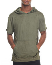 Buyers Picks - Suede S/S Hooded Tee