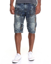 Buyers Picks - Destroy Ice Moto Denim Shorts