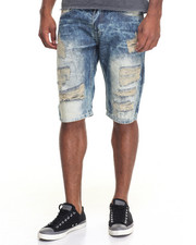 Buyers Picks - Premium Rip - And - Repair Denim Shorts