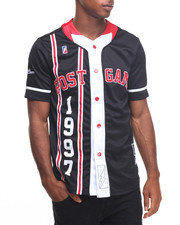 Men - P G 1997 Flu Season Baseball Jersey