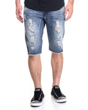 Men - MINIMAL SANDWASH DENIM SHORTS