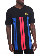 T-Shirts - Vertical Striped S/S Tee