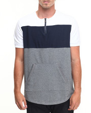 Hudson NYC - Paneled Fishtail S/S Tee
