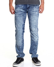 Jeans & Pants - Monarchy Washed Out Slim - Straight Denim Jeans