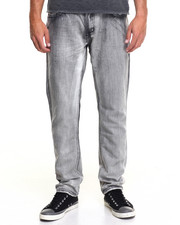 Men - Monarchy Streaky Mercerized Denim Jeans