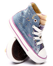 Footwear - CHUCK TAYLOR DENIM SPATTER ALL STAR PARTY (5-10)