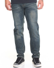 Buyers Picks - Streaky Belted Slim - Straight Denim Jeans