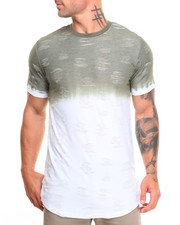 Men - Ombre Rip & Tear Tee